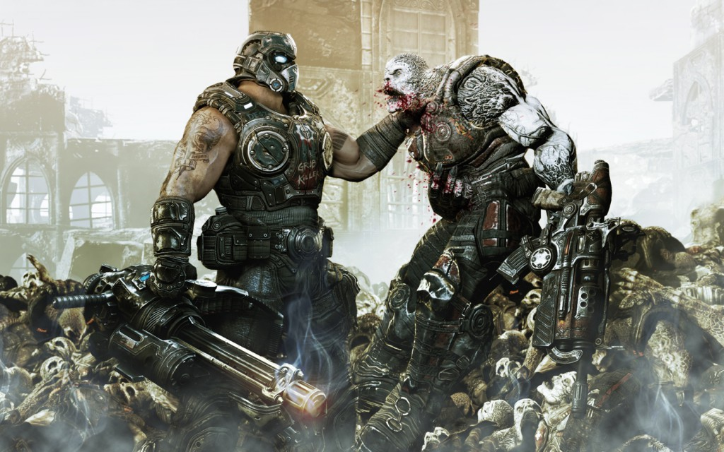 Carmine from Gears of War 3