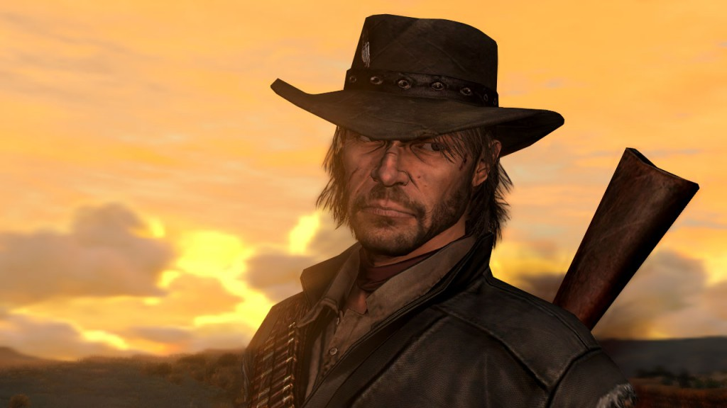 Marston from Red Dead Redemption