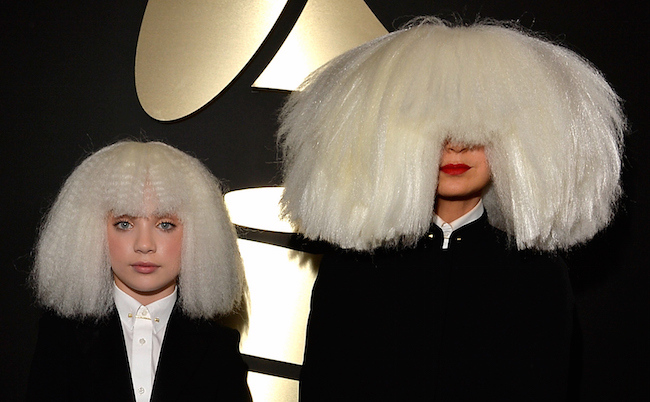 Sia and Maddie Ziegler at the Grammys