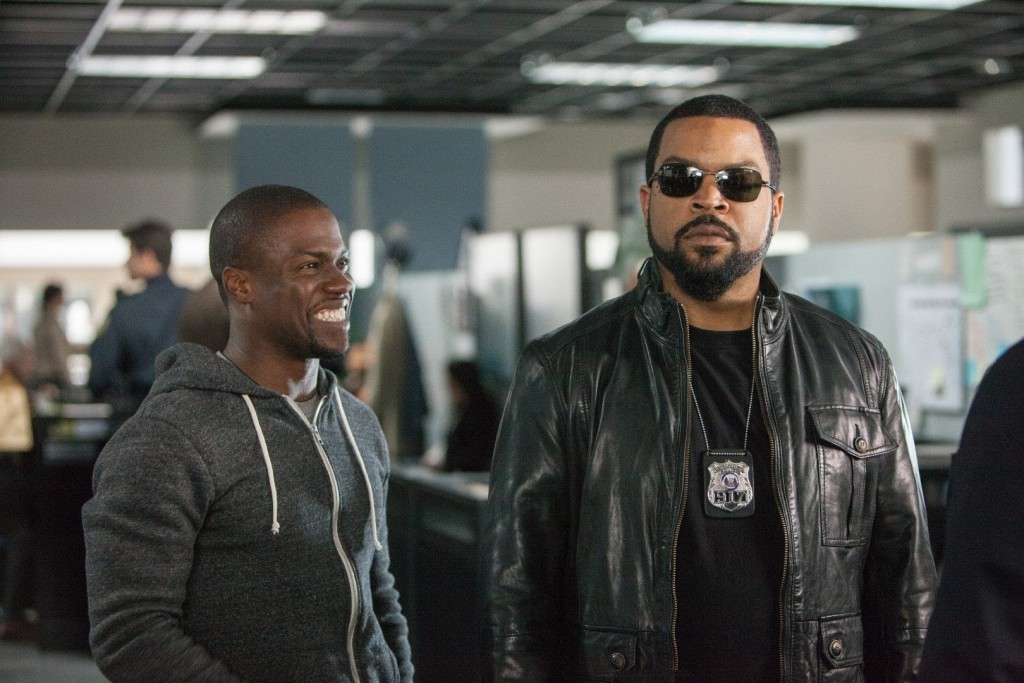 Ice Cube and Kevin Hart in Ride Along