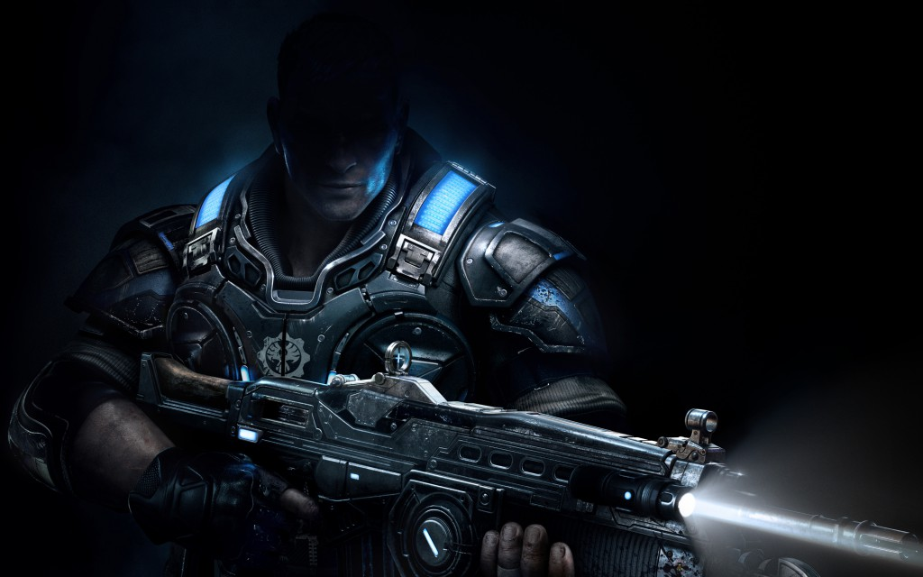 Gears of 4 image shot