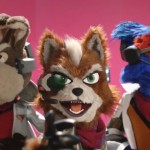 Star Fox puppets from E3 2015
