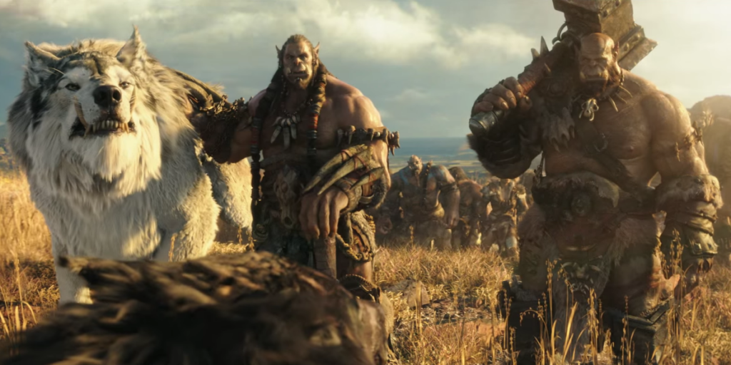 World of Warcraft movie still