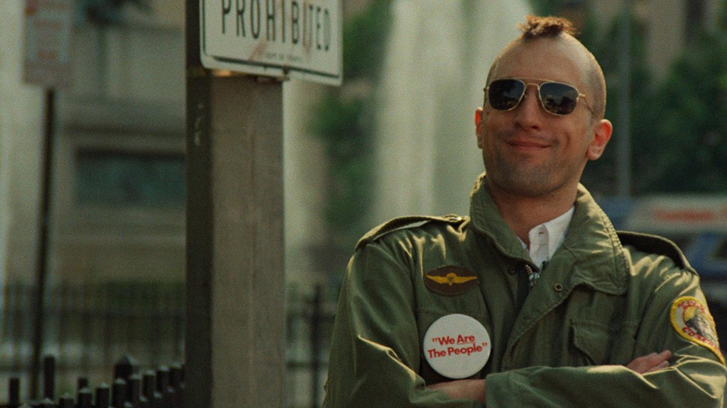 """Scene from """"Taxi Driver"""""""