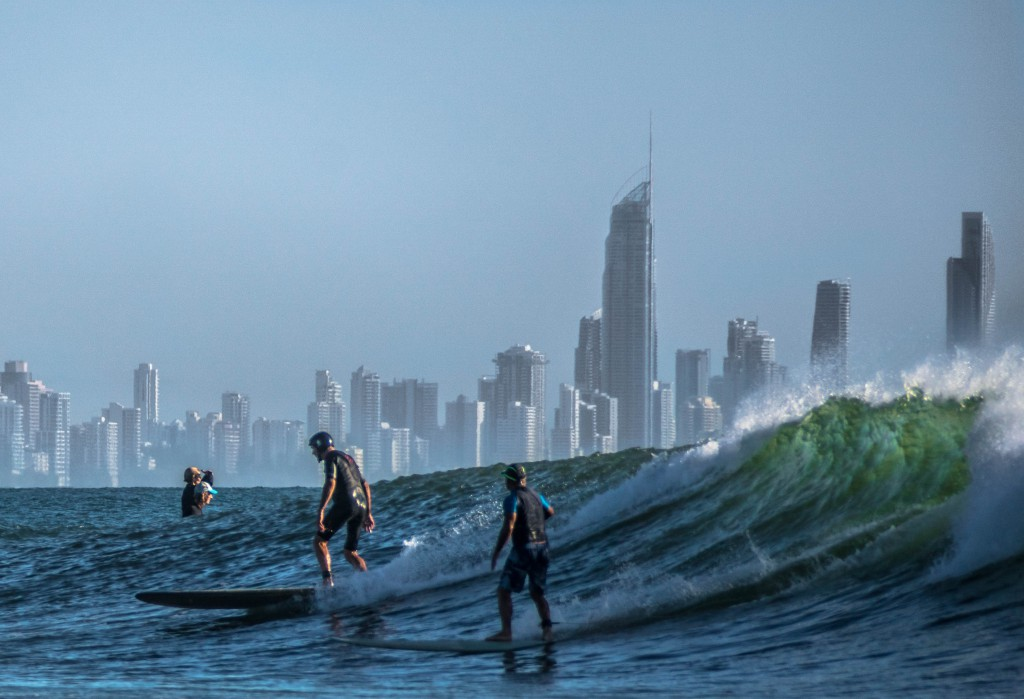 Surfing_on_the_Gold_Coast
