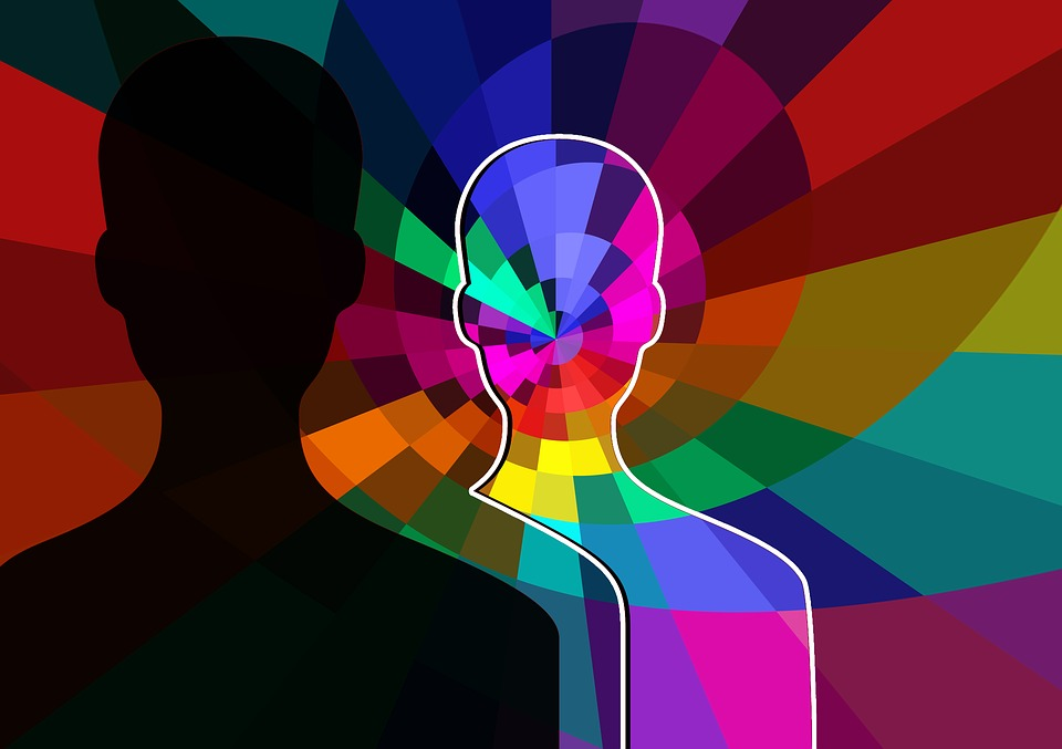 Anonymous Abstract Head Color Silhouette Human