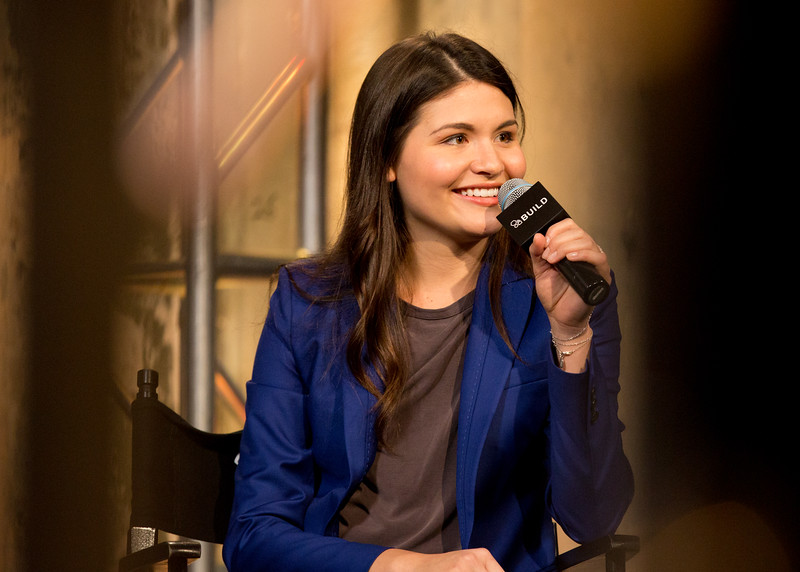 Phillipa Soo visits AOL Hq for Build on Nov. 5, 2015 in New York. Photos by Gino DePinto, AOL