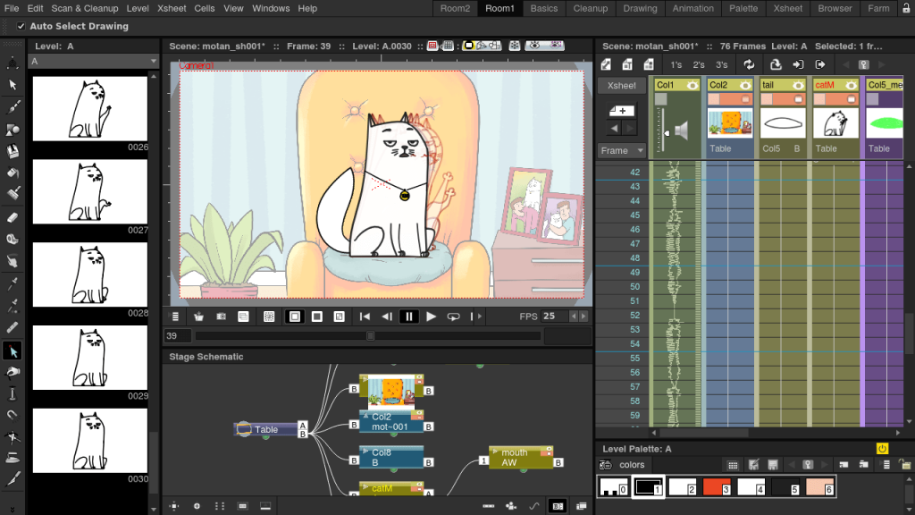 opentoonz animation software