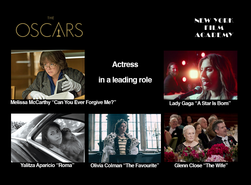 Lead actor oscar nominations 2019