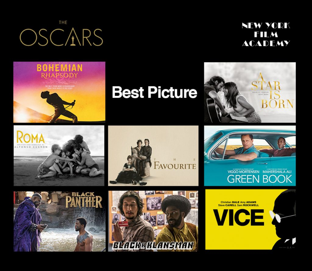2019 Best Picture nominees