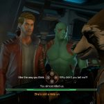 interactive telltale guardians of the galaxy
