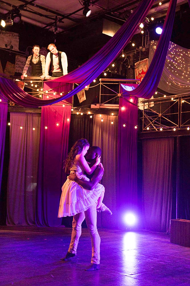 intimate dance routine carousel