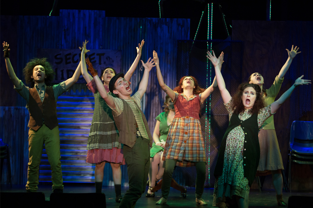 Urinetown Cast Dance Together