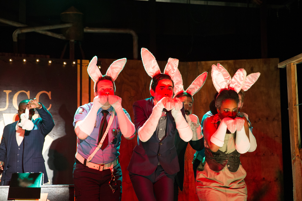 Urinetown Cast As Rabbits