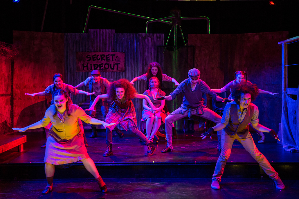 Urinetown Cast Perform Dance Number