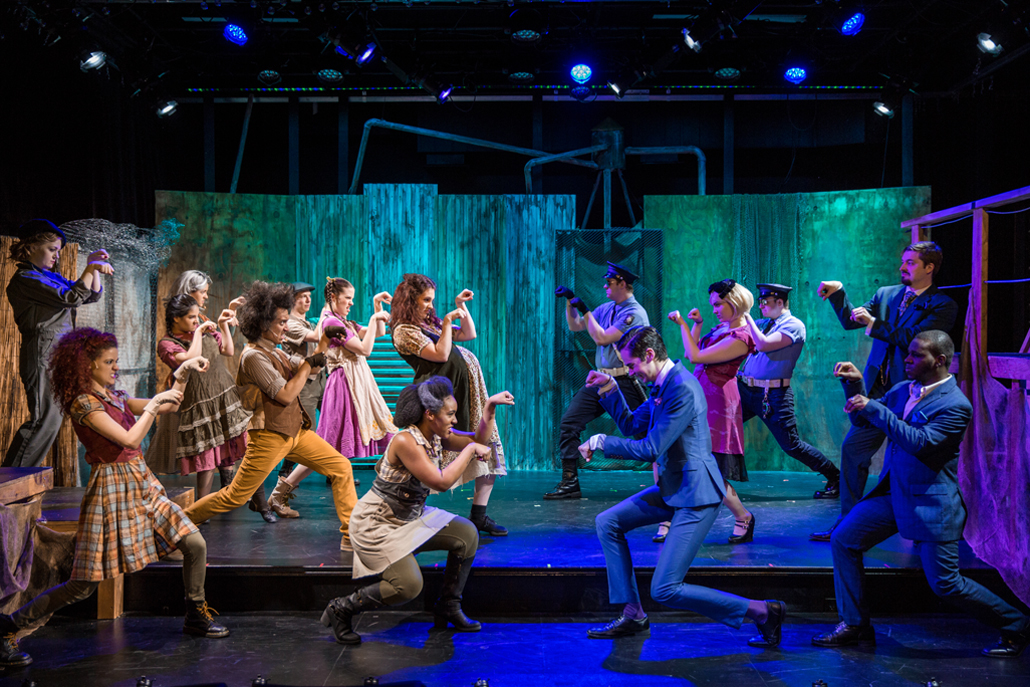 Urinetown Cast Go Head to Head in Dance