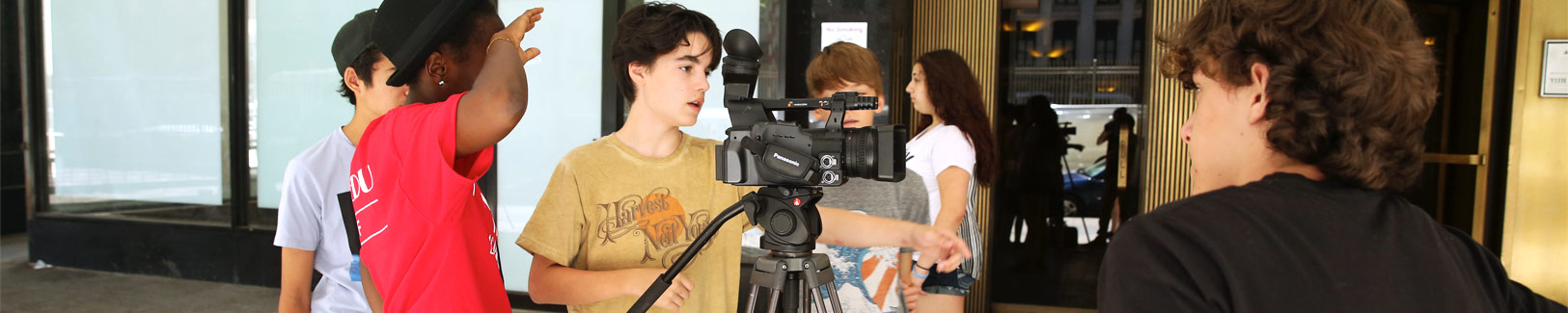 Broadcast Journalism Teen Camps at NYFA