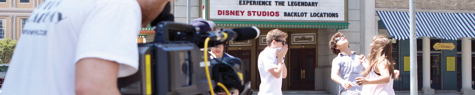 Film and acting camps at Disney Studios, FL