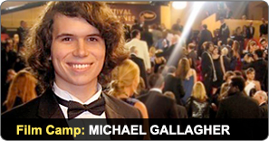 Film Camp Graduate Michael Gallagher