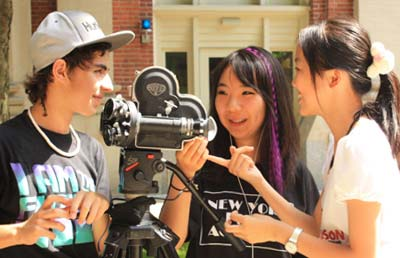 NYFA Students Learning Filmmaking Fundamentals at Harvard University