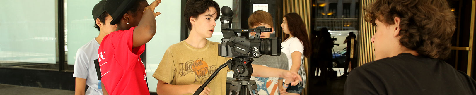 Learn more about our teen and kids film camps