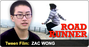 Tween Film Camp Graduate Zac Wong