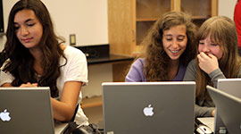 Teen in NYFA's 3D Animation Summer Camps
