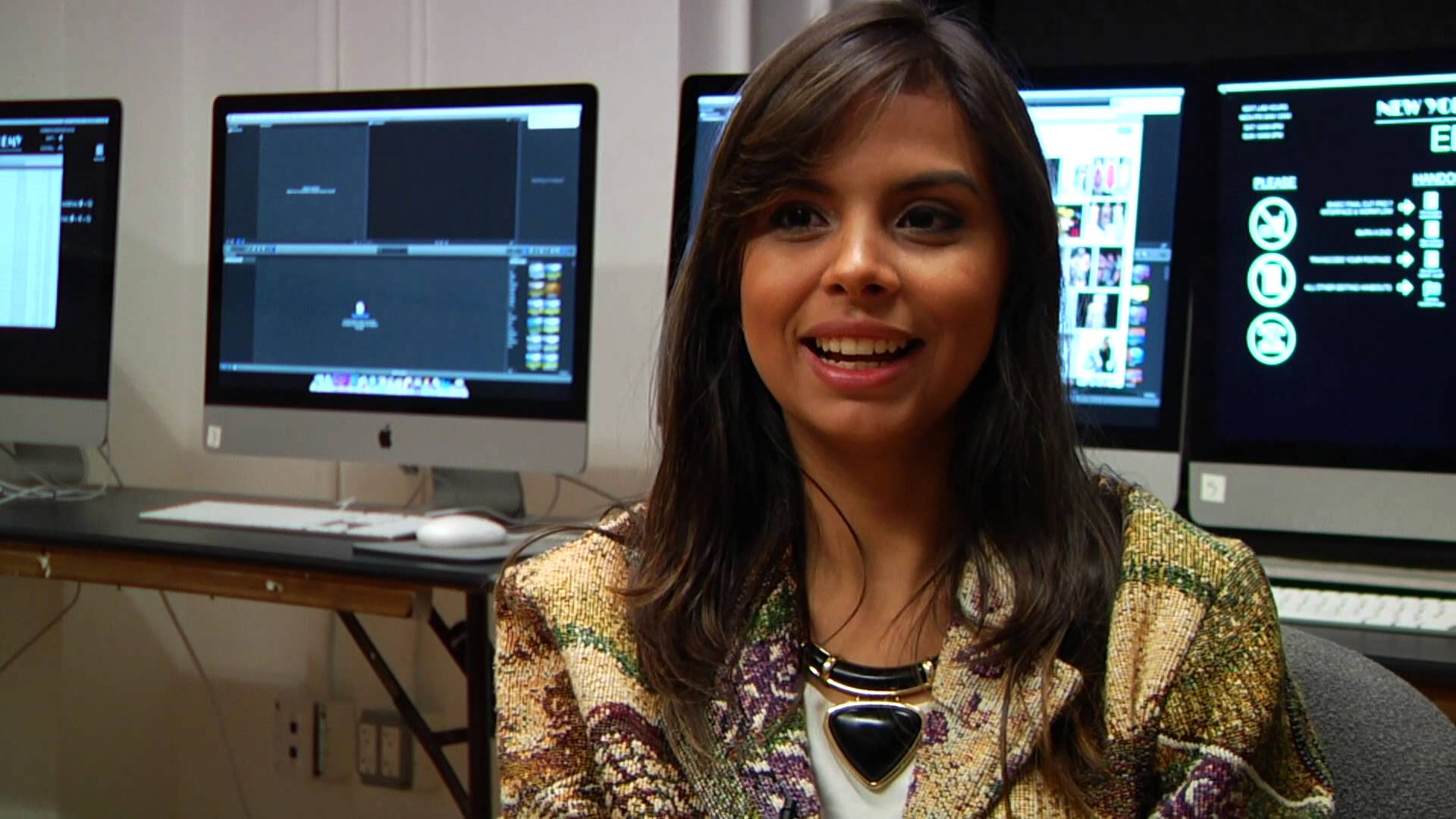Camila Pontes Reviews New York Film Academy Broadcast Journalism School