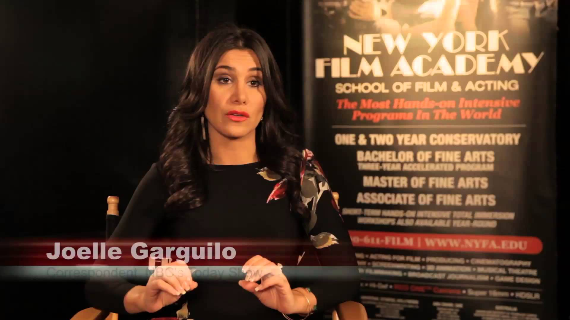 Joelle Garguilo Reviews New York Film Academy Broadcast Journalism School