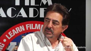 Discussion with Actor Joe Mantegna at New York Film Academy