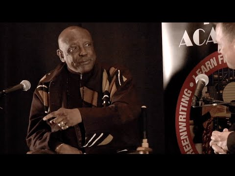 Discussion with Oscar Winning Actor Louis Gossett, Jr. at New York Film Academy