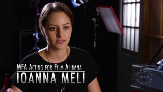 MFA Acting for Film Alumna Ioanna Meli
