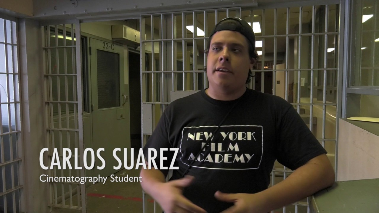 NYFA Cinematography Workshop at Sybil Brand Prison