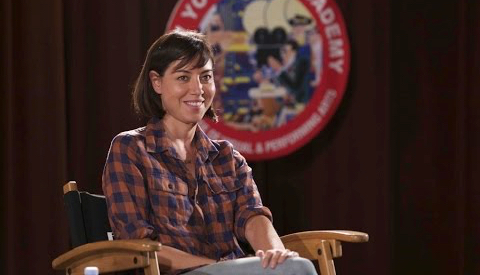 Discussion with Aubrey Plaza