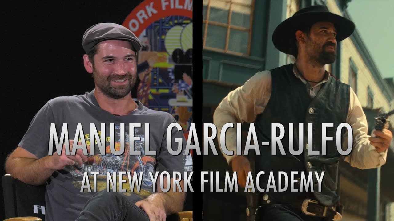NYFA Hosts Alumnus Manuel Garcia-Rulfo