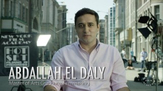 NYFA Spotlight on MFA Student and Fulbright Scholar Abdallah El Daly from Egypt