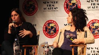 Julie Pacino and Jennifer DeLia at New York Film Academy