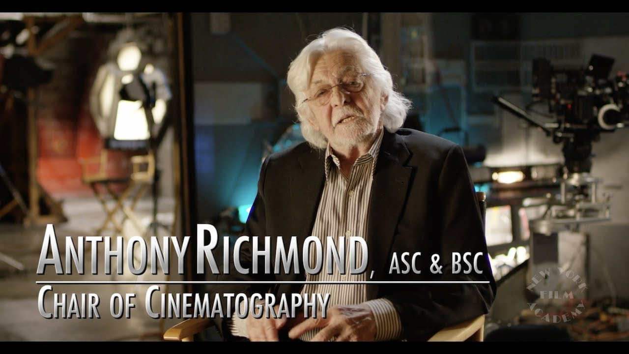 NYFA Faculty Spotlight on Tony Richmond