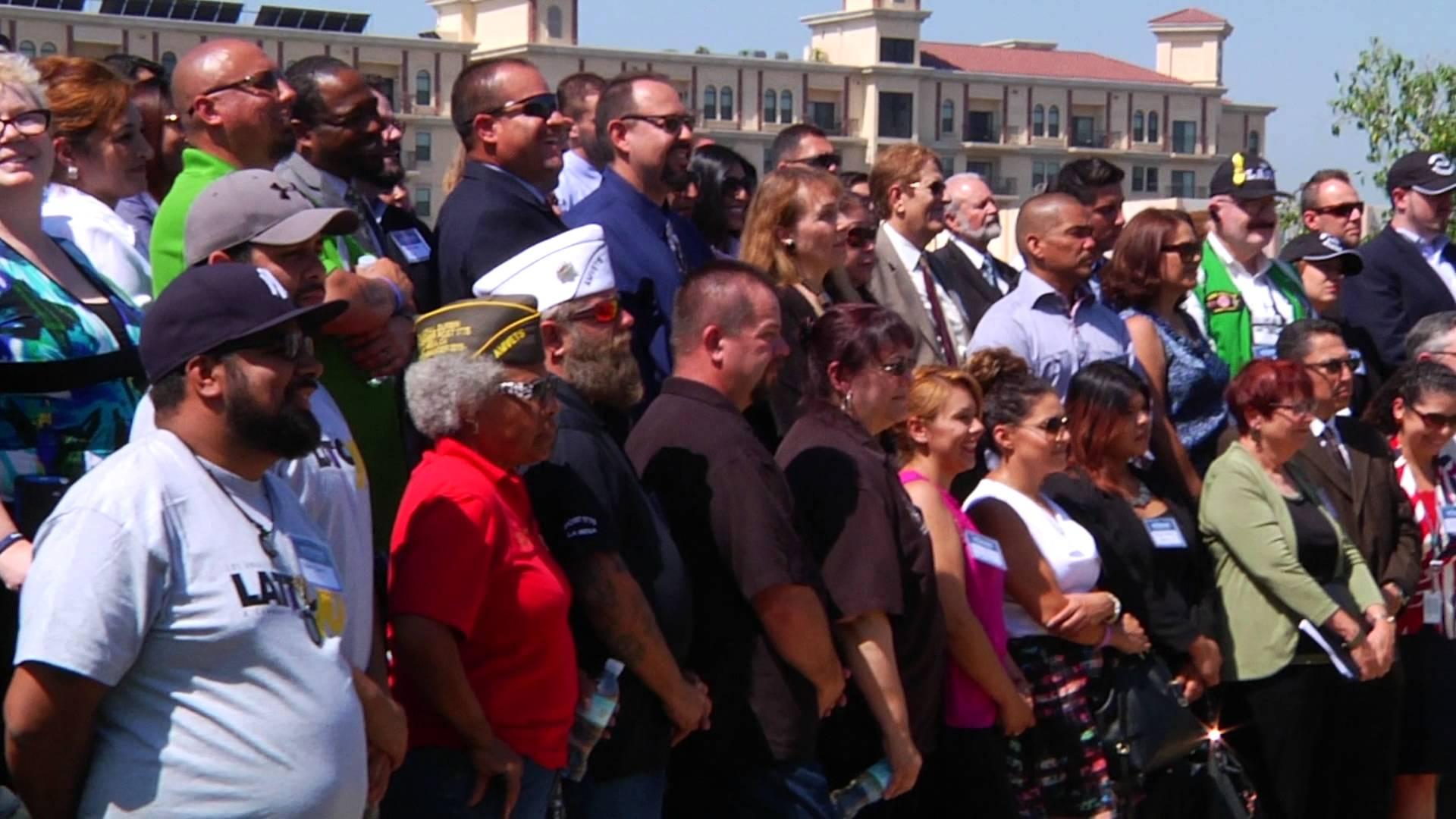 NYFA Military Veterans Team up with LA Mayor Garcetti Through 10,000 Strong Initiative