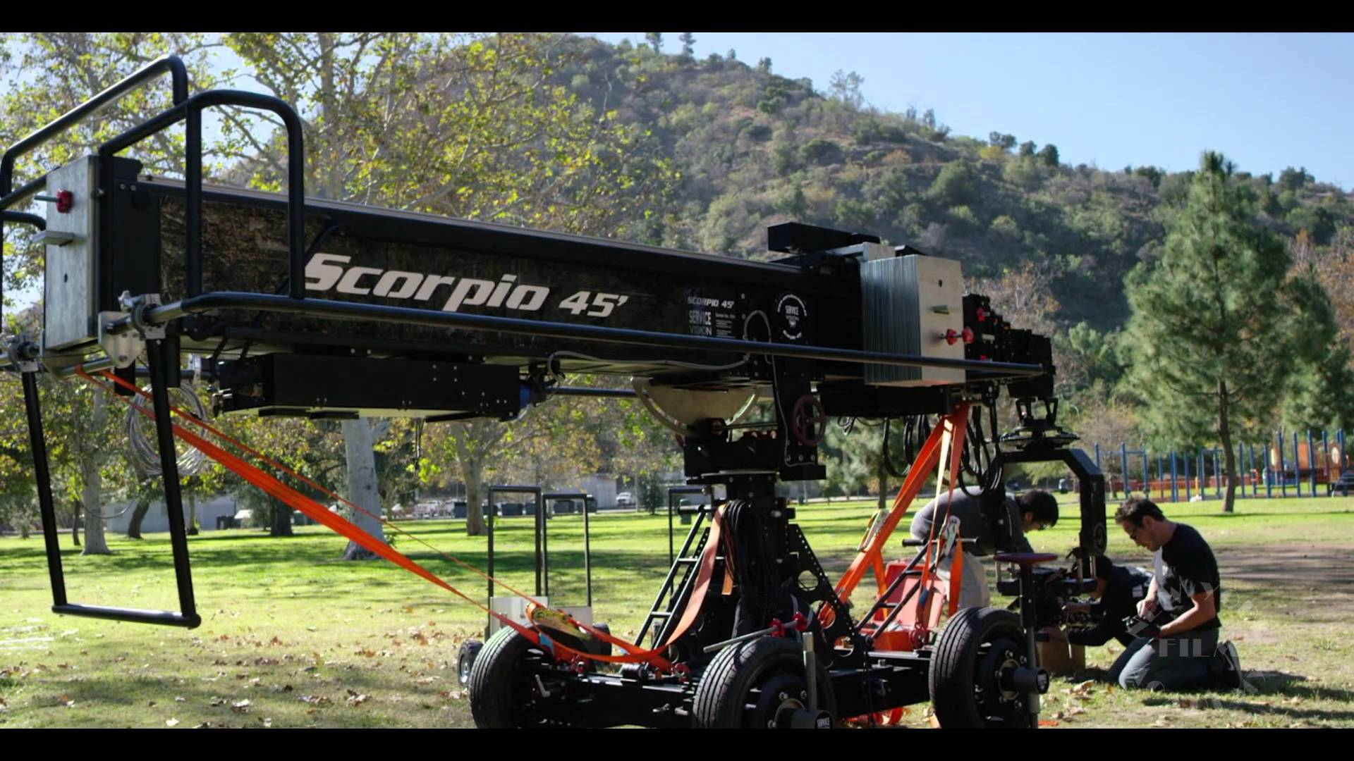 Scorpio Crane Workshop at New York Film Academy