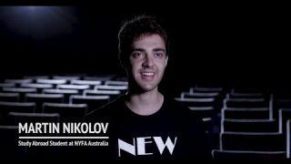 NYFA Australia Study Abroad Student Spotlight on Martin Nikolov