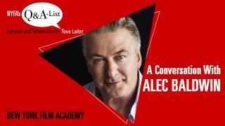 NYFA Guest Speaker Series: Alec Baldwin