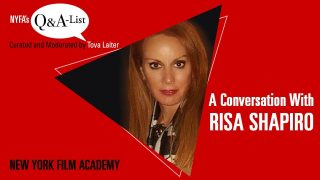NYFA's Q&A-List with Manager and Producer Risa Shapiro (Curated and Moderated by Tova Laiter)