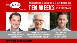 "NYFA's Q&A-List with the Producers of Military Docuseries ""Ten Weeks"""
